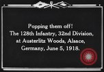Image of 128th Infantry Regiment Alsace France, 1918, second 6 stock footage video 65675044465