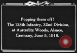 Image of 128th Infantry Regiment Alsace France, 1918, second 7 stock footage video 65675044465
