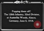 Image of 128th Infantry Regiment Alsace France, 1918, second 8 stock footage video 65675044465