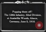 Image of 128th Infantry Regiment Alsace France, 1918, second 10 stock footage video 65675044465