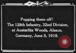 Image of 128th Infantry Regiment Alsace France, 1918, second 12 stock footage video 65675044465