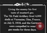 Image of 7th Field Artillery Regiment Oise France, 1918, second 1 stock footage video 65675044466