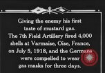 Image of 7th Field Artillery Regiment Oise France, 1918, second 3 stock footage video 65675044466
