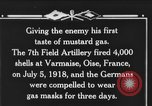 Image of 7th Field Artillery Regiment Oise France, 1918, second 5 stock footage video 65675044466