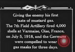 Image of 7th Field Artillery Regiment Oise France, 1918, second 6 stock footage video 65675044466