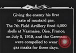 Image of 7th Field Artillery Regiment Oise France, 1918, second 7 stock footage video 65675044466