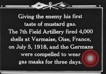 Image of 7th Field Artillery Regiment Oise France, 1918, second 12 stock footage video 65675044466