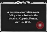 Image of German observation plane Cuperly France, 1918, second 3 stock footage video 65675044469