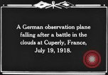 Image of German observation plane Cuperly France, 1918, second 5 stock footage video 65675044469