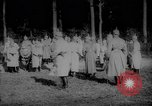 Image of German Kaiser Wilhelm II greets troops Europe, 1917, second 8 stock footage video 65675044483