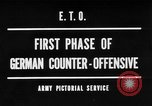 Image of German offensive Malmedy Belgium, 1944, second 1 stock footage video 65675044521