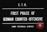 Image of German offensive Malmedy Belgium, 1944, second 4 stock footage video 65675044521