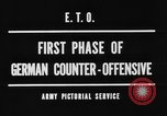 Image of German offensive Malmedy Belgium, 1944, second 6 stock footage video 65675044521