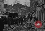 Image of V-2 rocket strike in Antwerp Belgium, 1944, second 4 stock footage video 65675044522
