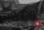 Image of V-2 rocket strike in Antwerp Belgium, 1944, second 10 stock footage video 65675044522