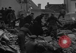Image of V-2 rocket strike in Antwerp Belgium, 1944, second 12 stock footage video 65675044522