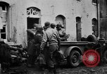 Image of Army M3 Half Track towing a field piece Belgium, 1944, second 6 stock footage video 65675044523