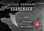 Image of German surrender Beaugency France, 1944, second 1 stock footage video 65675044538