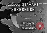 Image of German surrender Beaugency France, 1944, second 2 stock footage video 65675044538