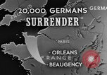 Image of German surrender Beaugency France, 1944, second 5 stock footage video 65675044538