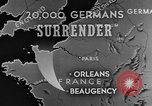 Image of German surrender Beaugency France, 1944, second 6 stock footage video 65675044538