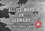 Image of American 3rd Army Dijon France, 1944, second 1 stock footage video 65675044540