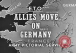 Image of American 3rd Army Dijon France, 1944, second 5 stock footage video 65675044540