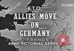 Image of American 3rd Army Dijon France, 1944, second 6 stock footage video 65675044540
