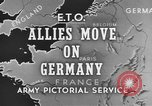 Image of American 3rd Army Dijon France, 1944, second 7 stock footage video 65675044540