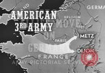 Image of American 3rd Army Dijon France, 1944, second 8 stock footage video 65675044540