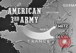 Image of American 3rd Army Dijon France, 1944, second 10 stock footage video 65675044540