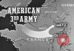 Image of American 3rd Army Dijon France, 1944, second 11 stock footage video 65675044540