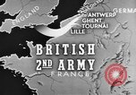Image of British 2nd Army Belgium, 1944, second 1 stock footage video 65675044541