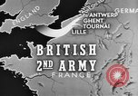 Image of British 2nd Army Belgium, 1944, second 2 stock footage video 65675044541