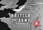 Image of British 2nd Army Belgium, 1944, second 3 stock footage video 65675044541
