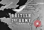 Image of British 2nd Army Belgium, 1944, second 4 stock footage video 65675044541