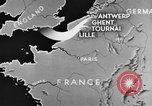 Image of British 2nd Army Belgium, 1944, second 7 stock footage video 65675044541