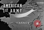 Image of American 1st Army Roetgen Germany, 1944, second 4 stock footage video 65675044542