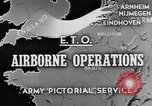 Image of 82nd Airborne Division Netherlands, 1944, second 1 stock footage video 65675044543