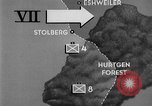 Image of US Army advance through Hurtgen forest Germany, 1944, second 8 stock footage video 65675044555