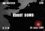 Image of robot bomb Aachen Germany, 1944, second 2 stock footage video 65675044559