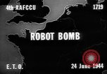 Image of robot bomb Aachen Germany, 1944, second 3 stock footage video 65675044559