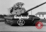Image of British tank United Kingdom, 1954, second 1 stock footage video 65675044576