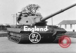 Image of British tank United Kingdom, 1954, second 2 stock footage video 65675044576