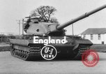 Image of British tank United Kingdom, 1954, second 3 stock footage video 65675044576