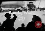 Image of sea otters Seattle Washington USA, 1954, second 3 stock footage video 65675044586