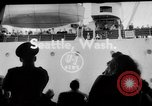 Image of sea otters Seattle Washington USA, 1954, second 4 stock footage video 65675044586