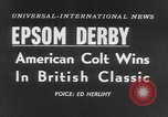 Image of Lester Keith Piggott Epsom Downs England, 1954, second 6 stock footage video 65675044588