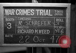 Image of war crimes trials Tokyo Japan, 1947, second 3 stock footage video 65675044595