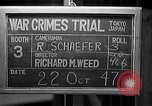 Image of war crimes trials Tokyo Japan, 1947, second 9 stock footage video 65675044595